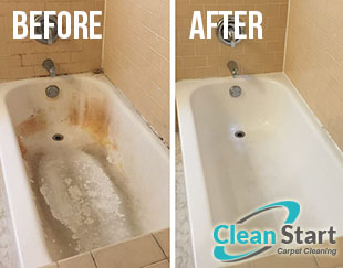 End of Tenancy Cleaning Before and After
